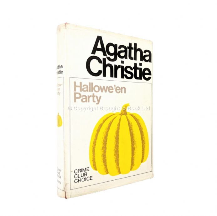 Hallowe'en Party Agatha Christie First Edition Published The Crime Club by Collins 1969